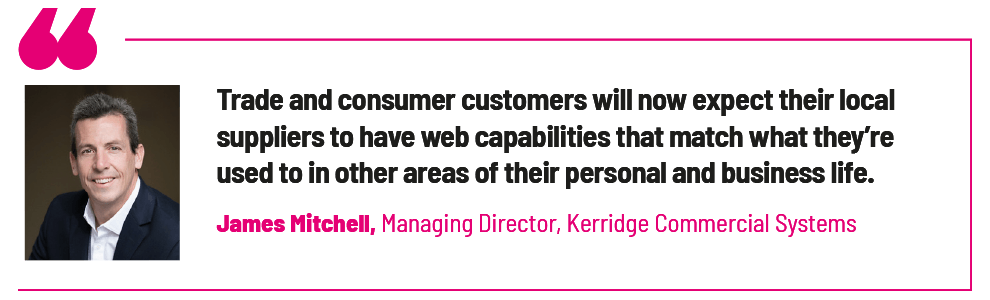 James Mitchell, Managing Director, Kerridge Commercial Systems