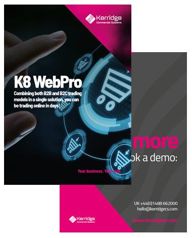 K8 WebPro Sampler
