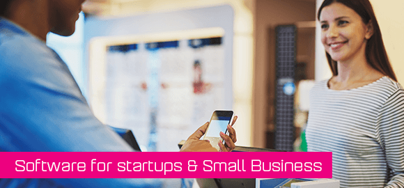 Software for startups and small businesses
